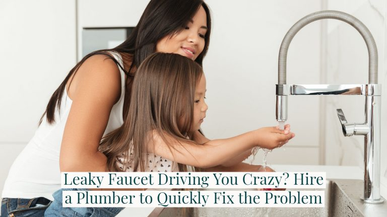 Leaky Faucet Driving You Crazy? Hire a Plumber to Quickly Fix the Problem