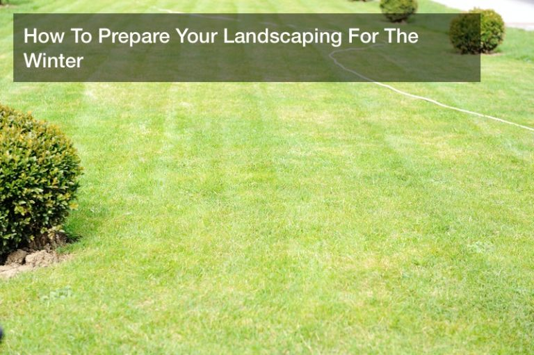 How To Prepare Your Landscaping For The Winter