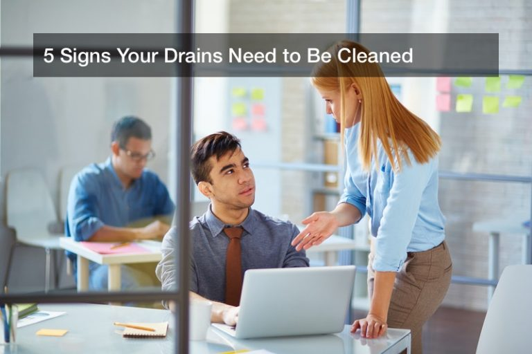 5 Signs Your Drains Need to Be Cleaned