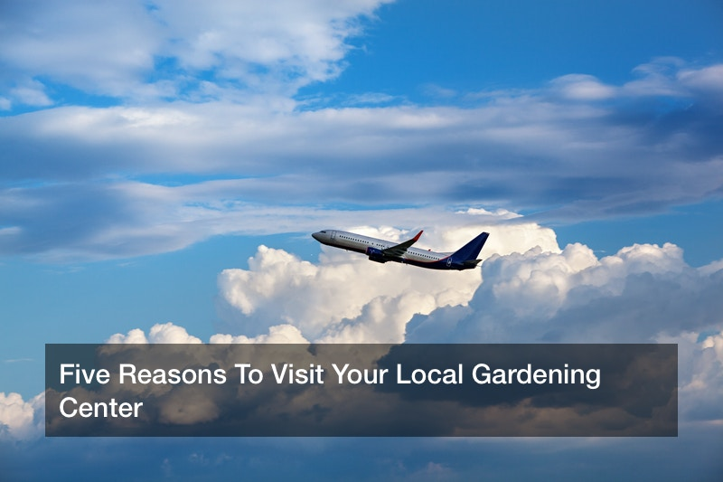Five Reasons To Visit Your Local Gardening Center