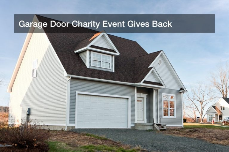 Garage Door Charity Event Gives Back