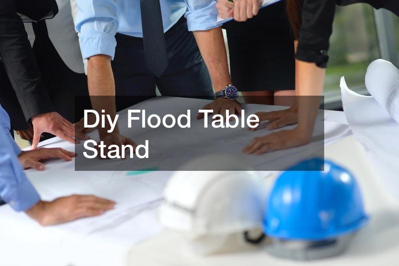 Diy Flood Table Stand