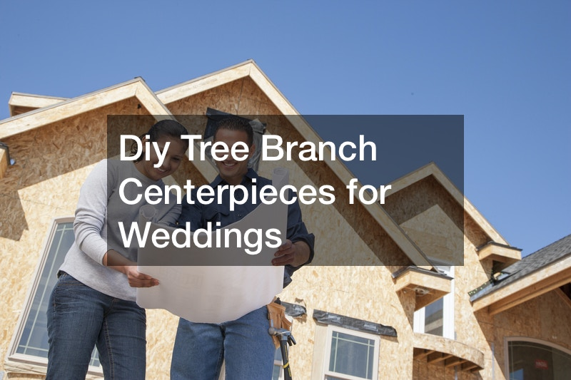 Diy Tree Branch Centerpieces for Weddings