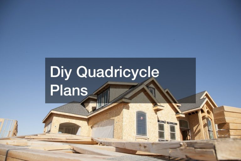 Diy Quadricycle Plans